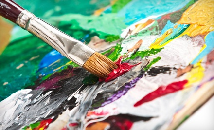BYOB Adult Therapeutic Painting Class for Two People (an $80 value) - Juiced on Imagination in Fort Collins