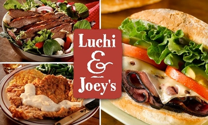 Luchi & Joey's - Multiple Locations: $4 for $8 Worth of Comfort Fare and Mexican-Style Deli Eats at Luchi & Joey's