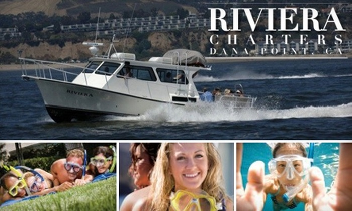 Riviera Yacht Charters - Dana Point: $30 for a Two-Hour Snorkeling Excursion from Riviera Yacht Charters ($91 Value)