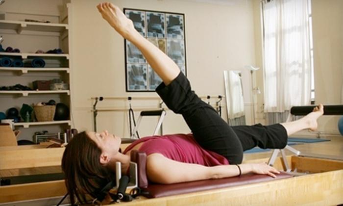 PHIT Pilates Studio - Parkville: One or Three Private Pilates Sessions at PHIT Pilates Studio