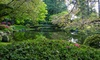 Nitobe Memorial Garden  - Vancouver: Admission for Two or Family Pass to Nitobe Memorial Garden
