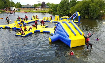 Lagoon Wipeout Entry for Four, Six or Eight at National Water Sports Centre (Up to 39% Off)