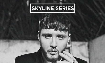 James Arthur and Special Guests, Standing or VIP Ticket, 24 August in Bristol or 25 August in Birmingham (Up to 9 % Off)