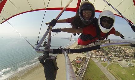 Vuelo tándem en ala delta sin motor para 1 o 2 personas desde 32,95 € en Sky Gliding
