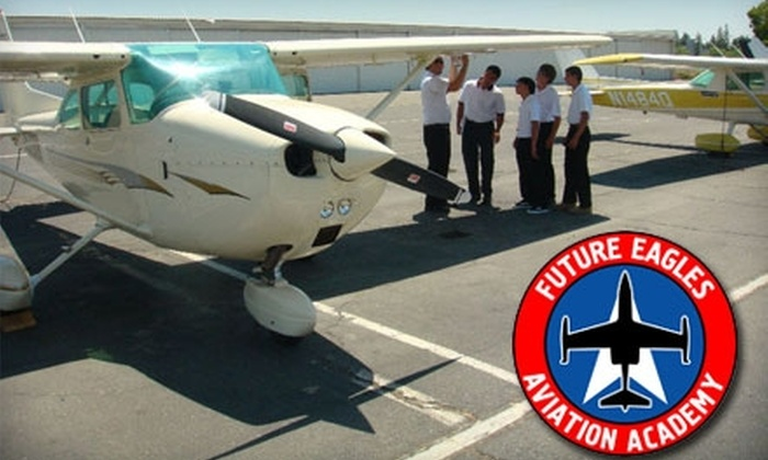 Future Eagles Aviation - Poppy Patch: $99 for a Three-Hour Discovery Flying Lesson and One-Hour Flight at Future Eagles Aviation ($235 Value)