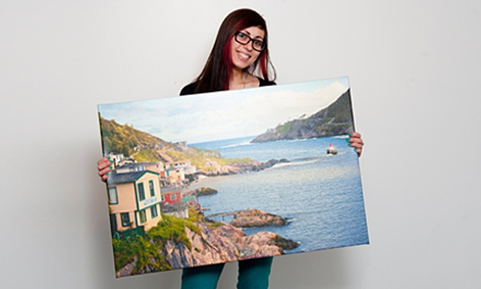 """Newfoundland Canvas - Downtown: 16""""x20"""" Canvas Photo Print or $20 for $40 Worth of Art and Prints at Newfoundland Canvas"""