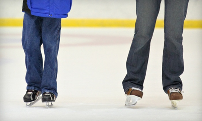 Monroe Multi-Sports Complex - Monroe: Open-Skate Admission, Skate Rental, and Hot Chocolate for Two or Four at Monroe Multi-Sports Complex (Up to Half Off)