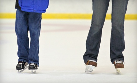 2 Open-Skate Admissions, 2 Skate Rentals, and 2 Hot Chocolates - Monroe Multi-Sports Complex in Monroe