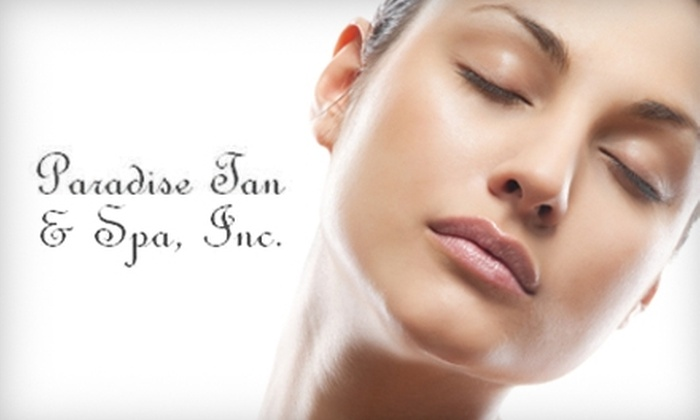 Paradise Tan & Spa - High Point: $40 for a Three-Session Lumiere Light Therapy Facial Package at Paradise Tan & Spa ($90 Value)