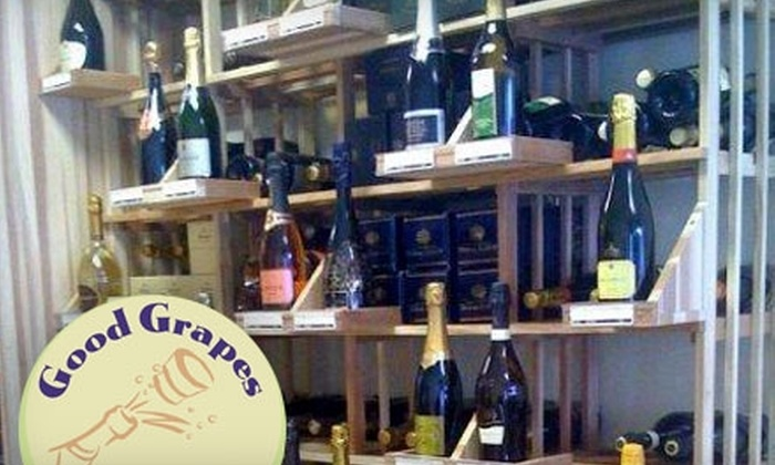 Good Grapes - Multiple Locations: $25 for $50 Worth of Boutique Wines at Good Grapes in Glencoe or Winnetka