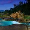 Mountain Lodge Overlooking Columbia River