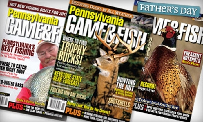 """Game & Fish"" Magazine - Erie: $8 for a One-Year Subscription to ""Game & Fish"" Magazine ($12 Value)"