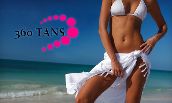 360 Tans - Northwest Austin: $19 for a Custom Airbrush Tan Applied by a Professional Airbrush Technician at 360 Tans ($50 Value)