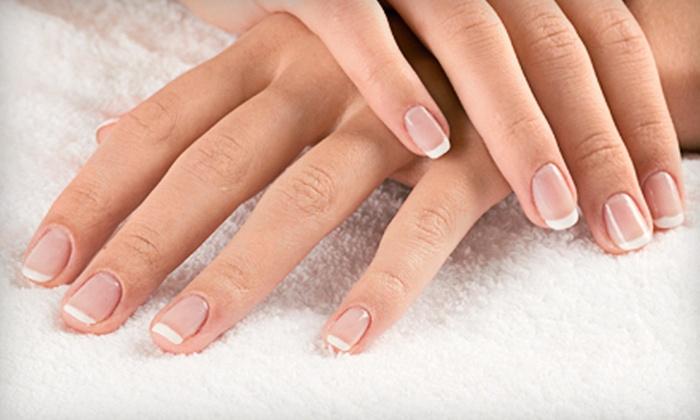 NoDa Nail Salon - Villa Heights: Manicure with Choice of Gelish or Shellac Polish or Pedicure at NoDa Nail Salon (Half Off)
