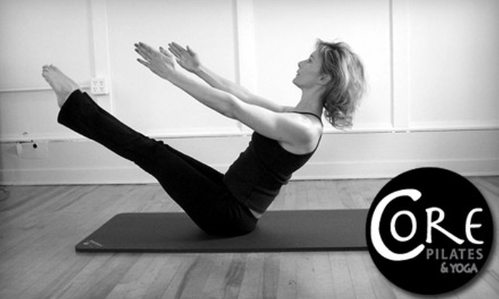 Core Pilates & Yoga - Plainfield: $35 for Five Pilates Mat or Yoga Classes at Core Pilates & Yoga ($70 Value)