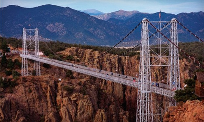 Royal Gorge Bridge and Park - Cañon City: Canyon Adventure for Four or Canyon Adventure for Four and One-Night Stay at Royal Gorge Bridge and Park in Cañon City