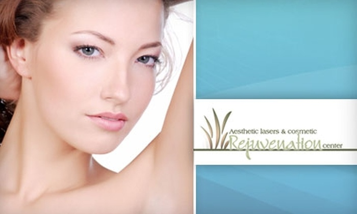 Aesthetic Lasers & Cosmetic Rejuvenation Center - Beachwood: $150 for $500 Worth of Laser Hair Removal at Aesthetic Lasers & Cosmetic Rejuvenation Center in Beachwood
