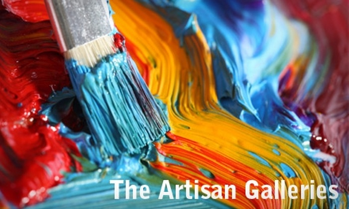 The Artisan Galleries and Learning Studio - Wilmore: $15 for an Introductory Art Class at The Artisan Galleries and Learning Studio (Up to $39 Value)