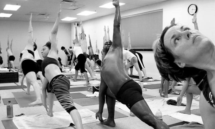 Vegas Hot! Yoga & Pilates - Sovana: $30 for 30 Days of Unlimited Classes at Vegas Hot! Yoga & Pilates ($125 Value)