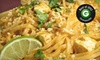 Lime Leaf Thai Restaurant - Southeast Jacksonville: $12 for $25 Worth of Thai Dinner Fare and Drinks at Lime Leaf Thai Restaurant
