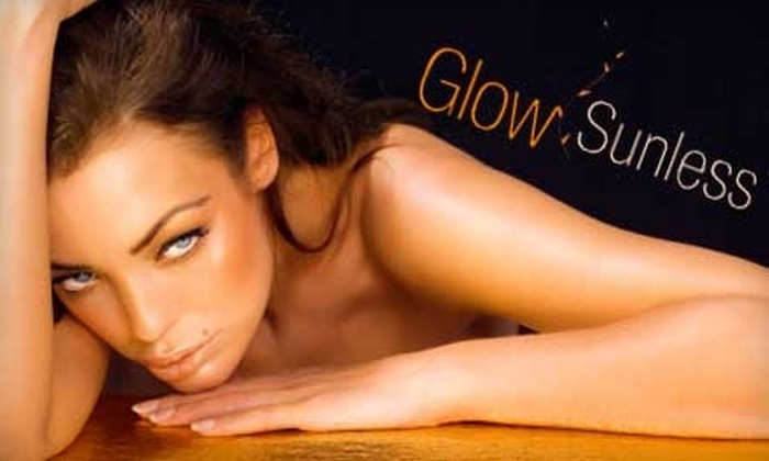 Glow Sunless Tanning Salon & Spa - Brighton: $20 for a Custom Spray Tan at Glow Sunless Tanning Salon & Spa