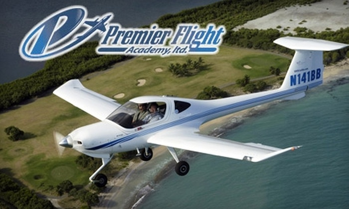 Premier Flight Academy - Multiple Locations: $79 for an Introductory Flight Lesson at Premier Flight Academy ($167.25 Value)