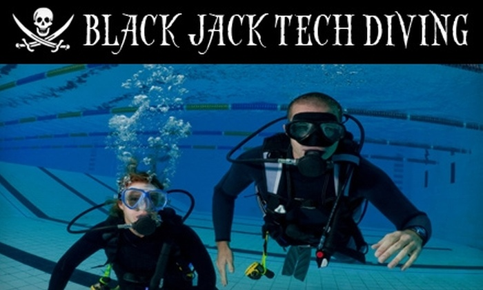 Black Jack Tech Diving - Raleigh / Durham: $30 for an Introductory Scuba Class at Black Jack Tech Diving ($75 Value)
