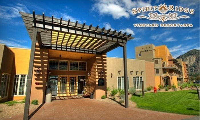 Spirit Ridge Vineyard & Spa - Osoyoos: $139 for a One-Night Stay for Two at Spirit Ridge Vineyard & Spa, Plus Complimentary Wine & Tasting