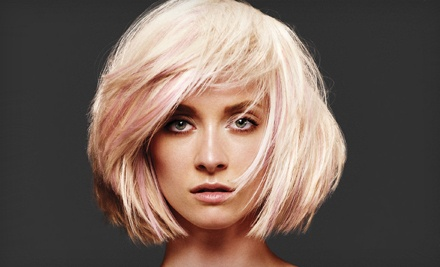 Haircut with Botanical Hair Therapy Treatment (a $55 value) - Axis Aveda Salon in Spokane Valley