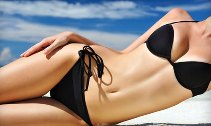 SunKissed Tanning - Flowood: One, Three, or Five Full-Body Airbrush Spray Tans at SunKissed Tanning (Up to 53% Off)