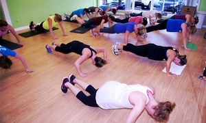 SWEAT Studio: One, Two, or Three Months of Unlimited Fitness Classes at SWEAT Studio (Up to 48% Off)