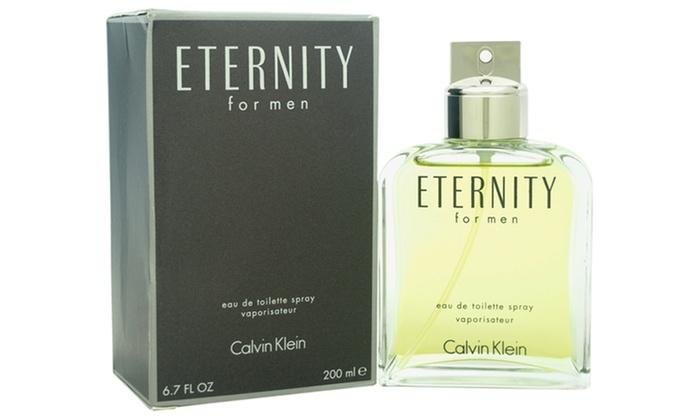 Calvin Klein Eternity Eau De Toilette for Men (6.7 Fl. Oz.)