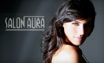 $100 Groupon to Salon Aura - Salon Aura in Omaha