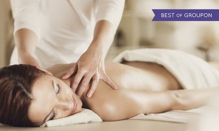 60Minute Massage or 30Minute Massage with Facial at House of Glamour