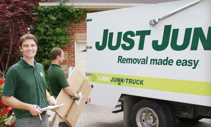 Just Junk - Cataraqui Westbrook: 4 or 7 Cubic Yards of Junk Removal from Just Junk (Up to 61% Off)