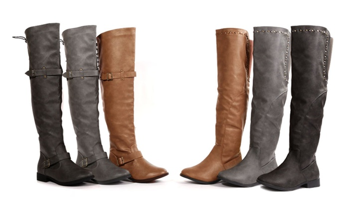 Bucco Over-the-Knee Boots: Bucco Over-the-Knee Boots. Multiple Styles and Colors Available from $44.99–$46.99. Free Shipping and Returns.