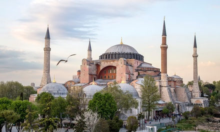 Groupon Deal: ✈ 8-Day Athens and Istanbul Vacation with Airfare from Keytours Vacations. Price/Person Based on Double Occupancy.