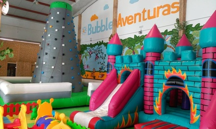Acceso ilimitado a parque de bolas infantil para 2, 4 o 6 niños durante 1 día desde 6 € en Bubble Aventuras