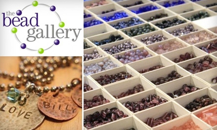 The Bead Gallery - Multiple Locations: $12 for $25 Worth of Classes and Beads at The Bead Gallery