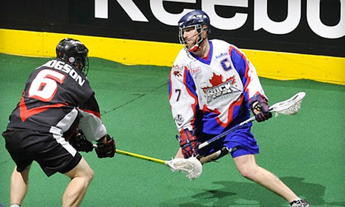 Toronto Rock Lacrosse Club - Downtown Toronto: Toronto Rock Lacrosse Club Game at Air Canada Centre (Up to 57% Off). Four Options Available.