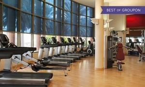 The Health Club at Sheraton Abu Dhabi Hotel & Resort: Fitness Membership and Spa Treatment for Up to Six Months at Sheraton Abu Dhabi Hotel & Resort(Up to 63% Off)