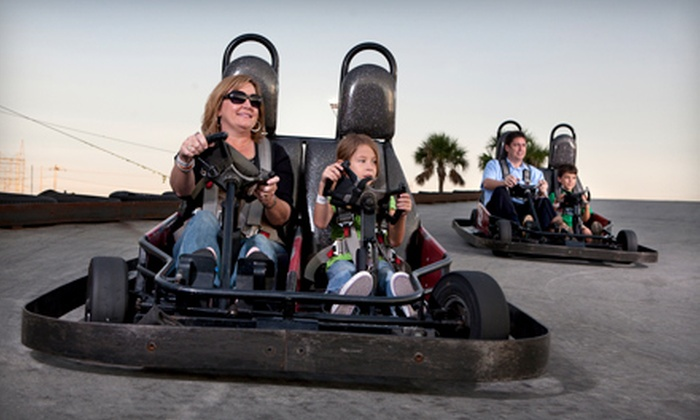 Fun Zone Amusement & Sports Park - Pooler: $25 for an All-Day Go-Kart and Mini-Golf Outing for Two at Fun Zone Amusement & Sports Park in Pooler (Up to $70 Value)
