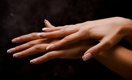 CND Shellac Manicure (a $45 value) - Little Flower Day Spa and Aesthetic Specialties in Mountain Brook Village