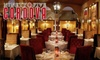 95 Cordova - Old City: $25 for $50 worth of Upscale Seasonal Cuisine at 95 Cordova