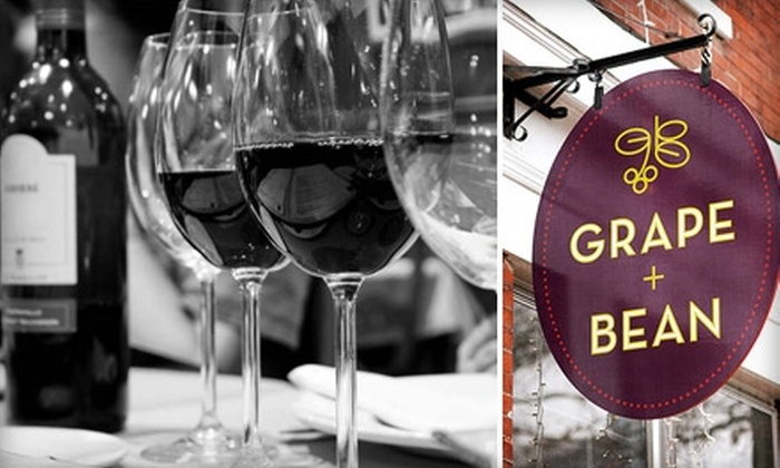 GRAPE + BEAN - Old Town: $15 for $30 Worth of Food, Wine, and More at GRAPE + BEAN