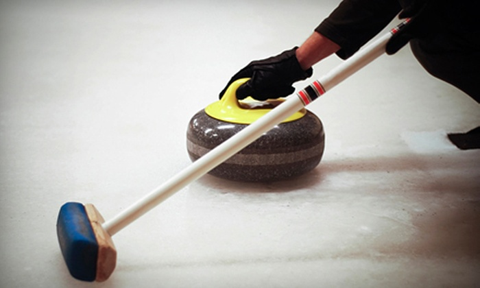 Jasper Place Curling Club - Edmonton: $149 for Four Weekly 90-Minute Curling Games for Two with Catered Dinners at Jasper Place Curling Club ($300 Value)