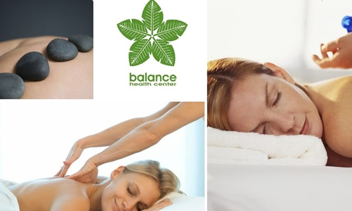 Balance Health Center - Center City West: $38 for 60-Minute Hot Stone or Lymphatic Drainage Massage at Balance Health Center