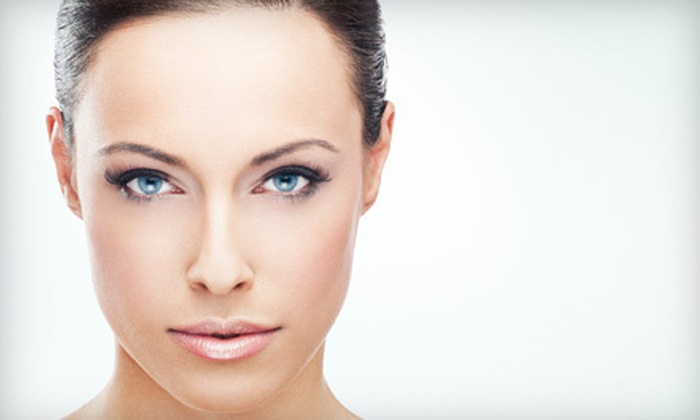 Salon Jolie - Multiple Locations: Brow Tinting and Wax, Lash Tinting and Perm, or Full Set of Lash Extensions at Salon Jolie (Up to 61% Off)