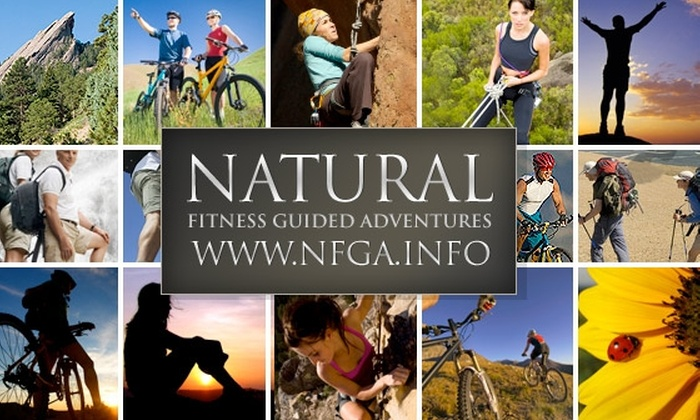 Natural Fitness Guided Adventures - Denver: Weekend Fitness Adventure in the Rockies for Sept 12