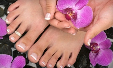$60 Groupon to Queen Bee Nail Gallery - Queen Bee Nail Gallery in Victoria